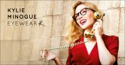 Kylie Minogue at Specsavers