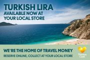 Turkish Lira at Thomas Cook