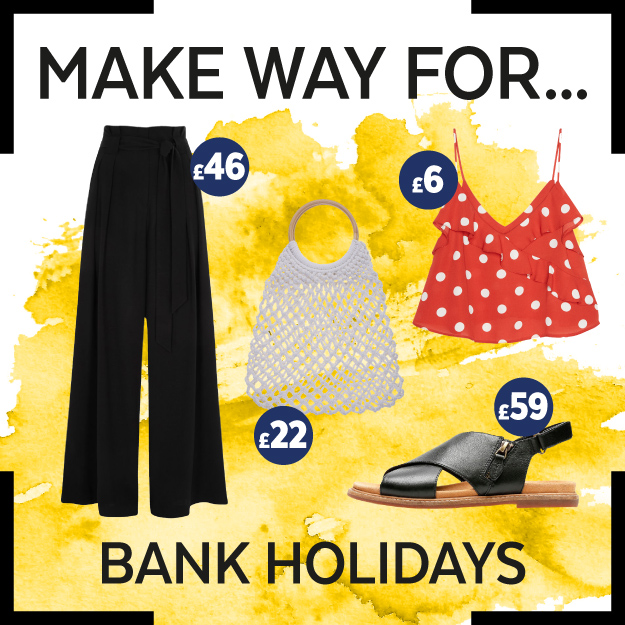 Get the Look: Bank Holiday