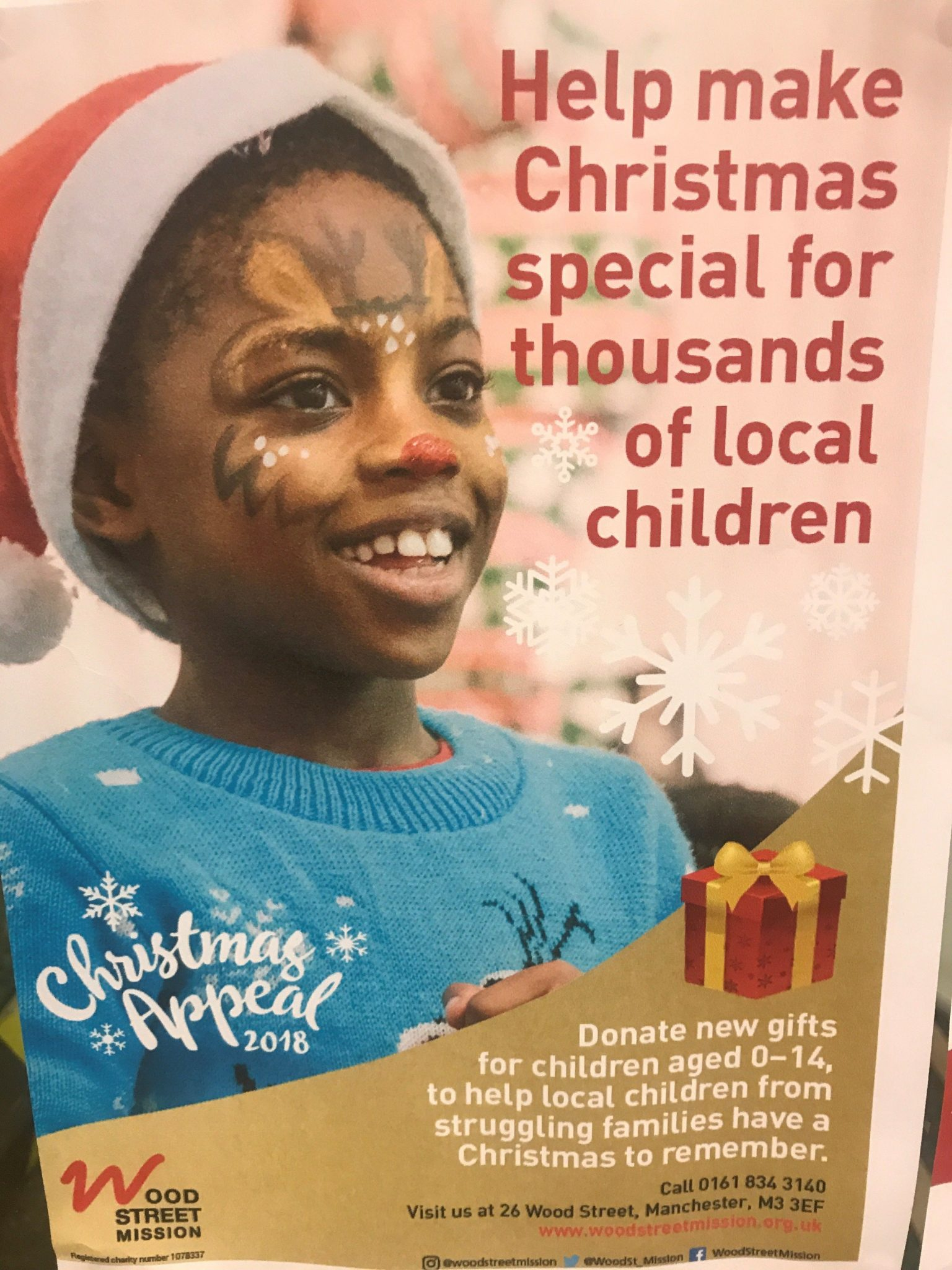 Specsavers Are Supporting Wood Street Mission This Christmas