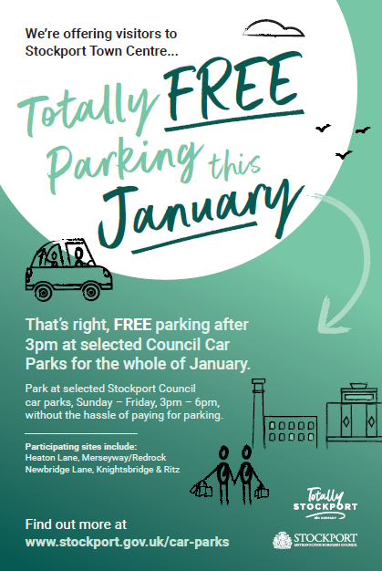 Free Parking Throughout January