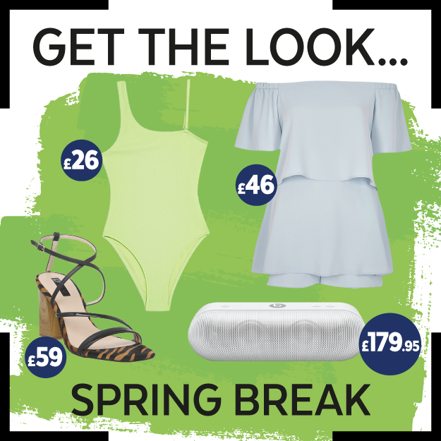 Get The Look: Spring Break