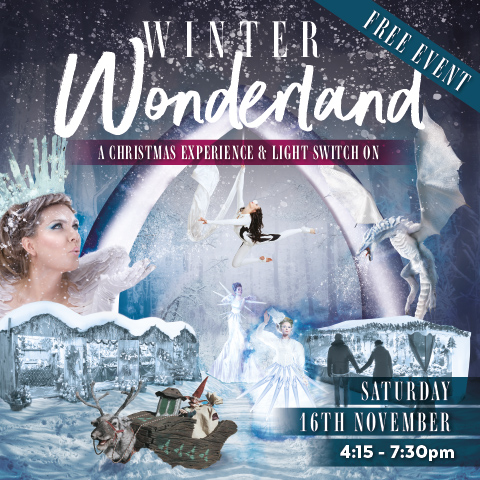 Merseyway Shopping Centre gets into the spirit of Christmas with the ultimate Winter Wonderland experience!